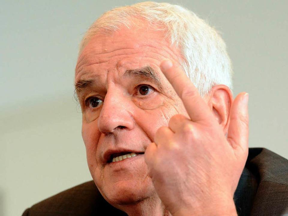 Rainer Stickelberger will eine Lücke im Recht schließen.   | Foto: dpa