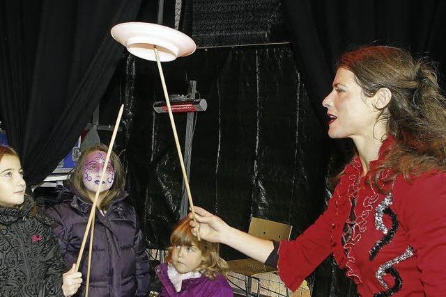 Kindertag bei der Chrysanthema: Bühne frei fürs ganz junge Publikum