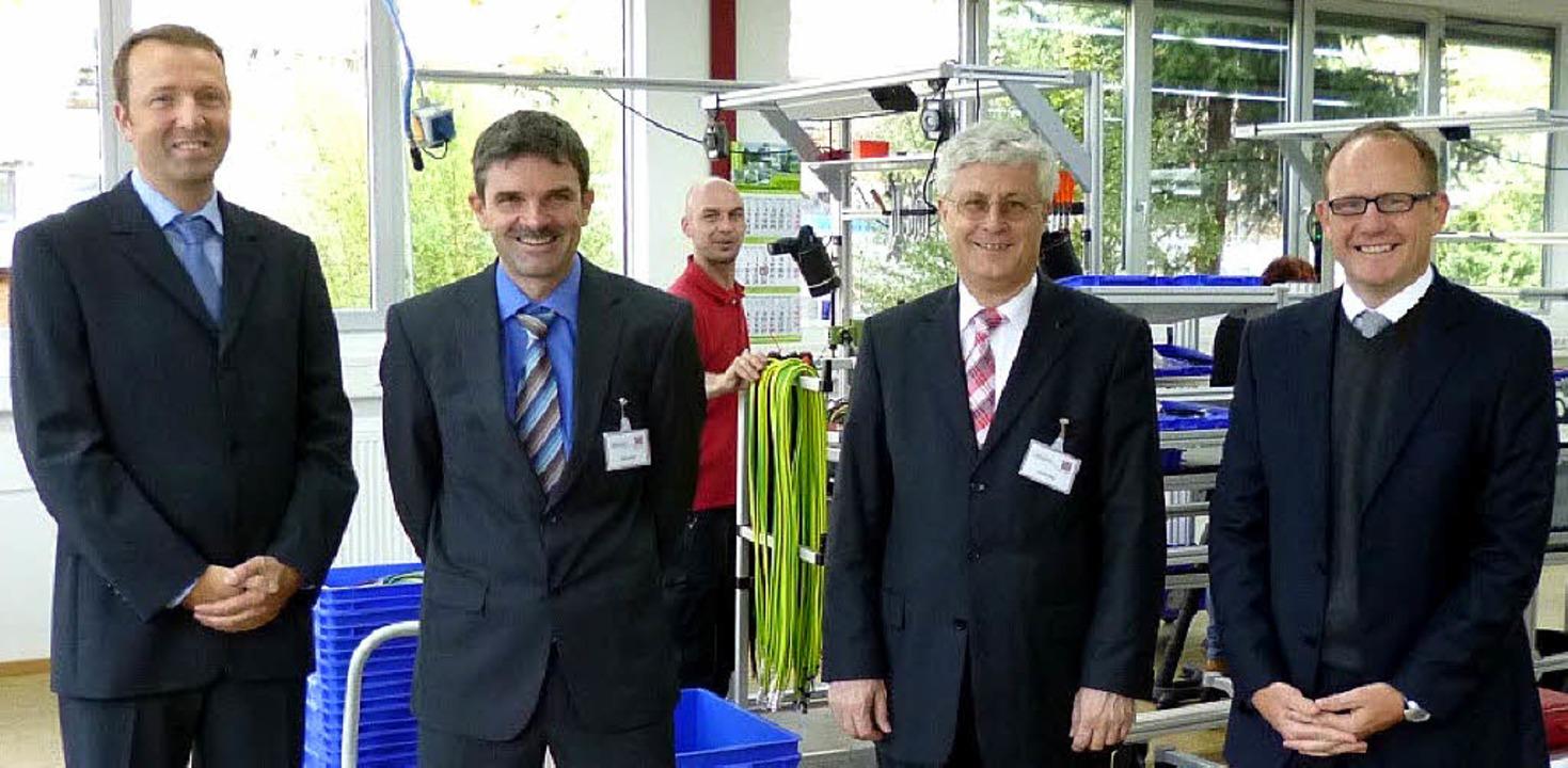 Produktionsleiter Martin Daum,  Peter ...ührer  John Dallapiccola (von links).   | Foto: Privat