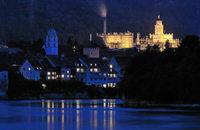 Langzeitbelichtungs-Session von Jacques Beuchat am Rheinufer