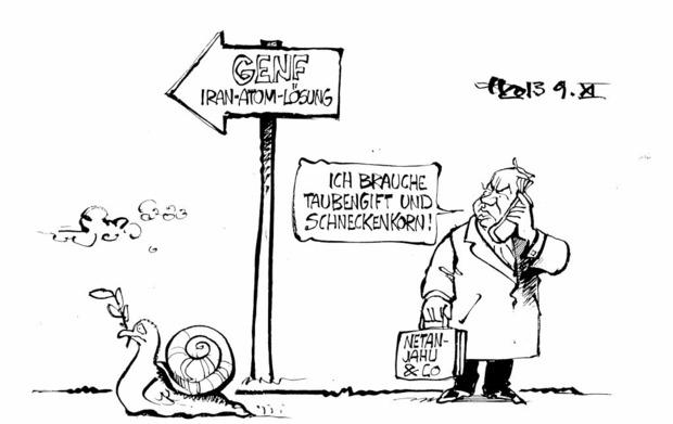 Karikatur ZEICHNUNG: Haitzinger