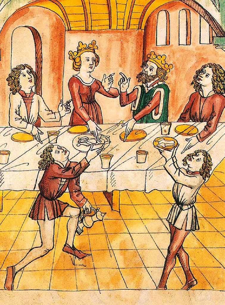 Tischsitten Im Mittelalter Arbeitsblatt : Gutes benehmen macht eindruck liebe familie badische