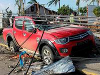 Taifun Hayan hinterlässt eine Spur der Zerstörung