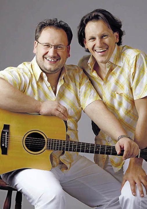 Das Duo Grashüpfer spielt am Samstag b...Volksmusik, Schlager, Oldies und Pop.   | Foto: Veranstalter