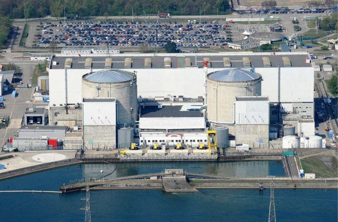 Reicht bei einem Atomunfall die Schutz...n zehn Kilometer Radius um Fessenheim?  | Foto: dapd