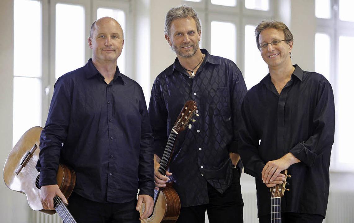 Armin Krüger, Thomas Vogt und Wolfgang Schubart (von links) sind Cuadro sur.   | Foto: PR