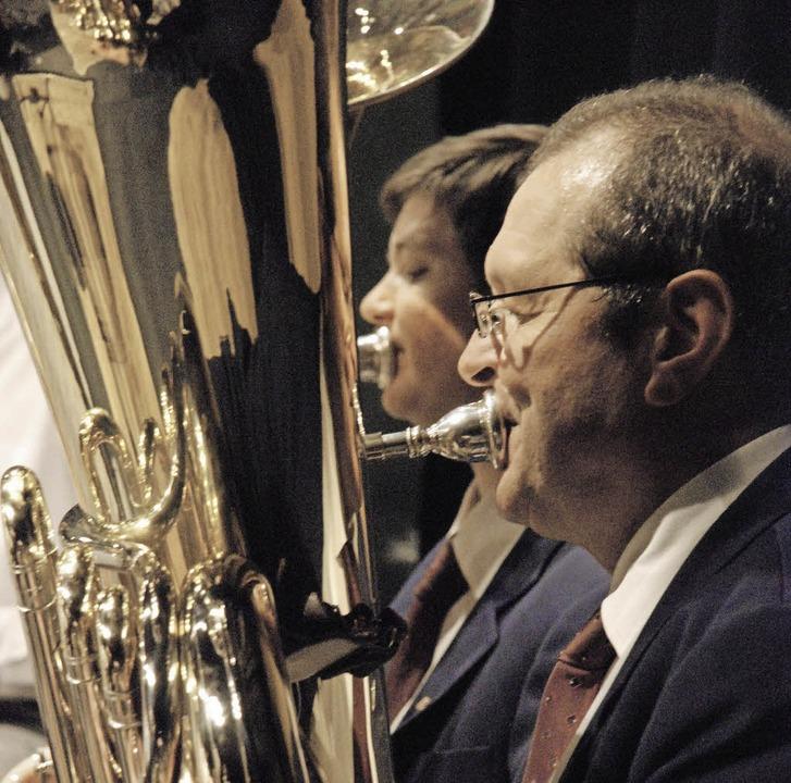 Anspruchsvolle Blasmusik verspricht di... am Samstag (hier: Konzert von 2011).   | Foto: Maja Tolsdorf