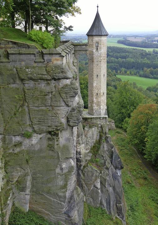 Auf Fels gebaut: Festung Königstein  | Foto: Schiedel/Matthias Creutziger