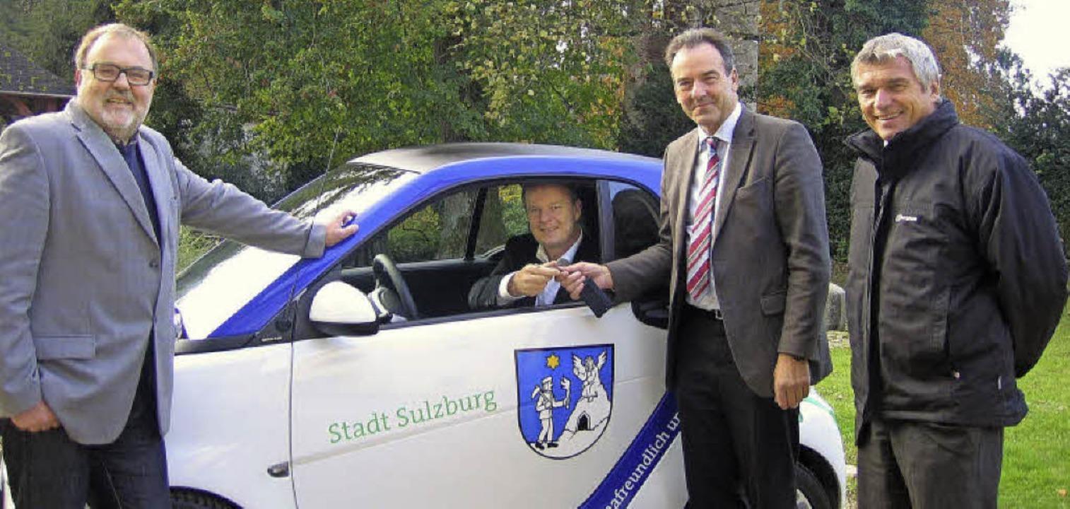 sulzburg als vorreiter in sachen elektromobilit t sulzburg badische zeitung. Black Bedroom Furniture Sets. Home Design Ideas