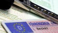 Zur Strafe: Führerschein weg
