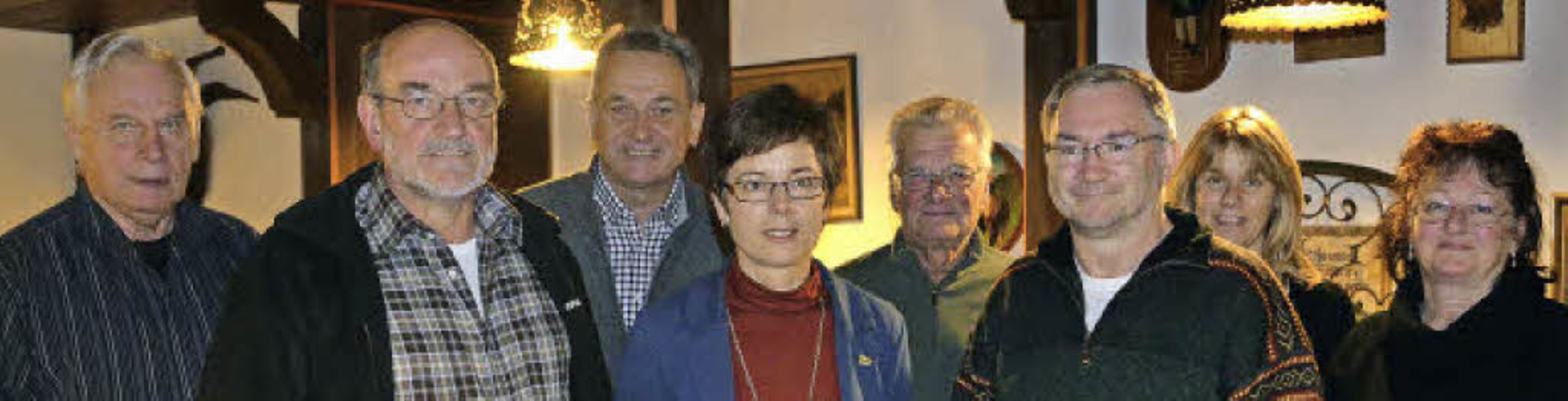 Der gewählte Vorstand der Bürgerinitia...chmann, Sonja Rießle, Monika Schultis   | Foto: Nikolaus Bayer