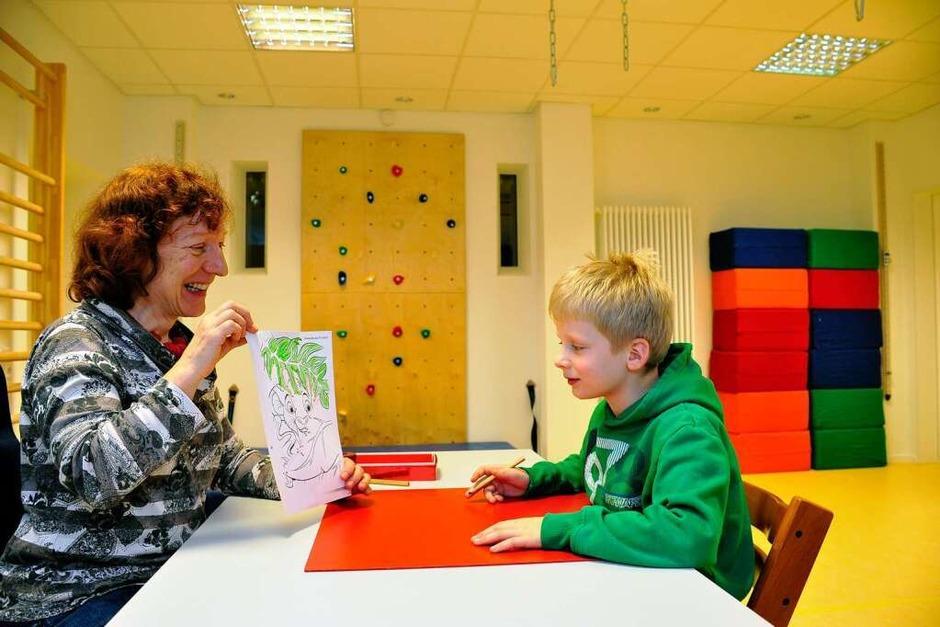 Die Lebenshilfe Müllheim hat mit der Spende von 4000 Euro einen Raum für  Ergotherapie eingerichtet. (Foto: Thomas Kunz)