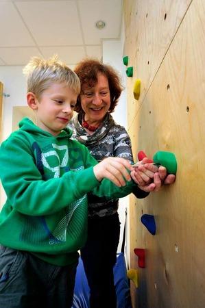 Die Lebenshilfe Müllheim hat mit der Spende von 4000 Euro einen Raum für  Ergotherapie eingerichtet.