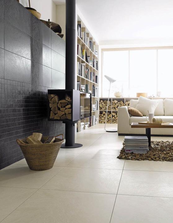 fliesen kommen ganz gro raus haus garten badische zeitung. Black Bedroom Furniture Sets. Home Design Ideas