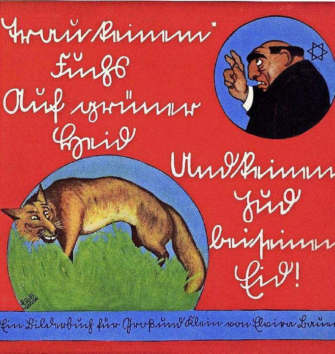 Trau keinem Fuchs auf grüner Heid und ... <BZ-FotoNurRepro>BZ</BZ-FotoNurRepro>  | Foto: unbekannt