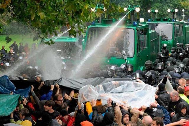 S-21-Demo: Polizeieinsatz wird nochmal aufgedröselt