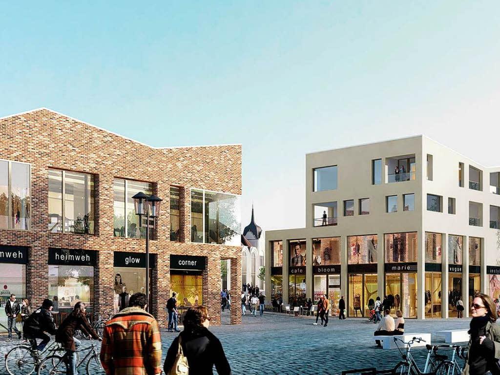 offenburg bekommt einkaufsgalerie mit 25 gesch ften offenburg badische zeitung. Black Bedroom Furniture Sets. Home Design Ideas