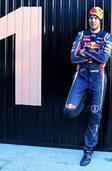 Die 1 steht Sebastian Vettel gut