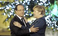 Antrittsbesuch bei Hollande