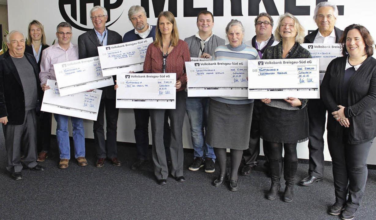 Spendenübergabe bei der Gottenheimer F...Essenstreff), Birgit Schuster-Merkle.   | Foto: schöneberg