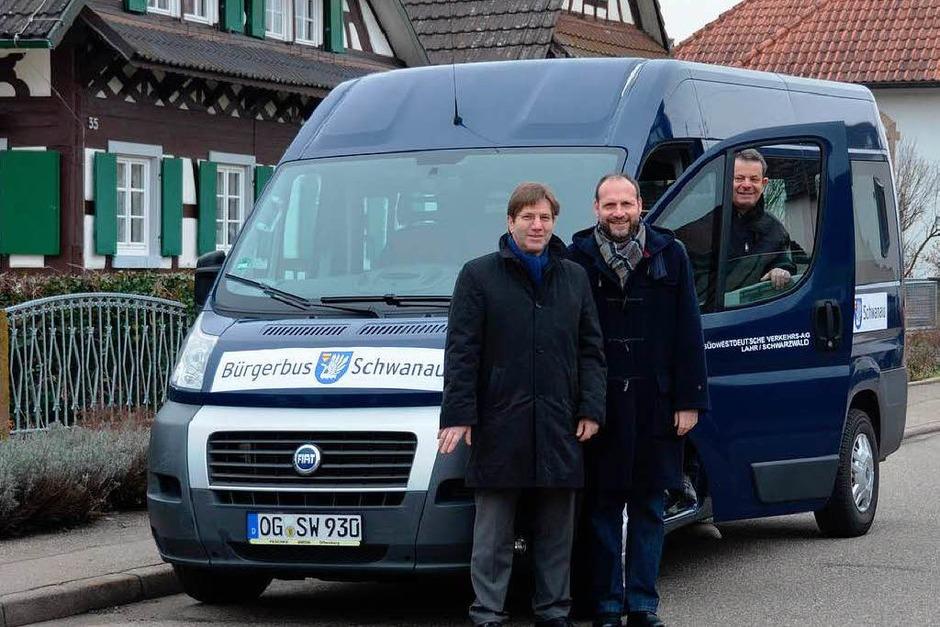 In Schwanau geht der Bürgerbus an den Start. (Foto: Ulrike Derndinger)