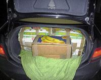 350 Kilo Fleisch in Bananenkisten