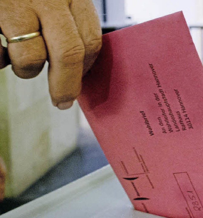 Kommunalwahl, Europawahl, OB-Wahl: 201...n die Lörracher an die Urnen gerufen.   | Foto: dpa
