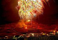 Fotos: Silvesterfeuerwerk über Südbaden