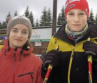 Franziska Sch�ttler gewinnt Jugendsprint