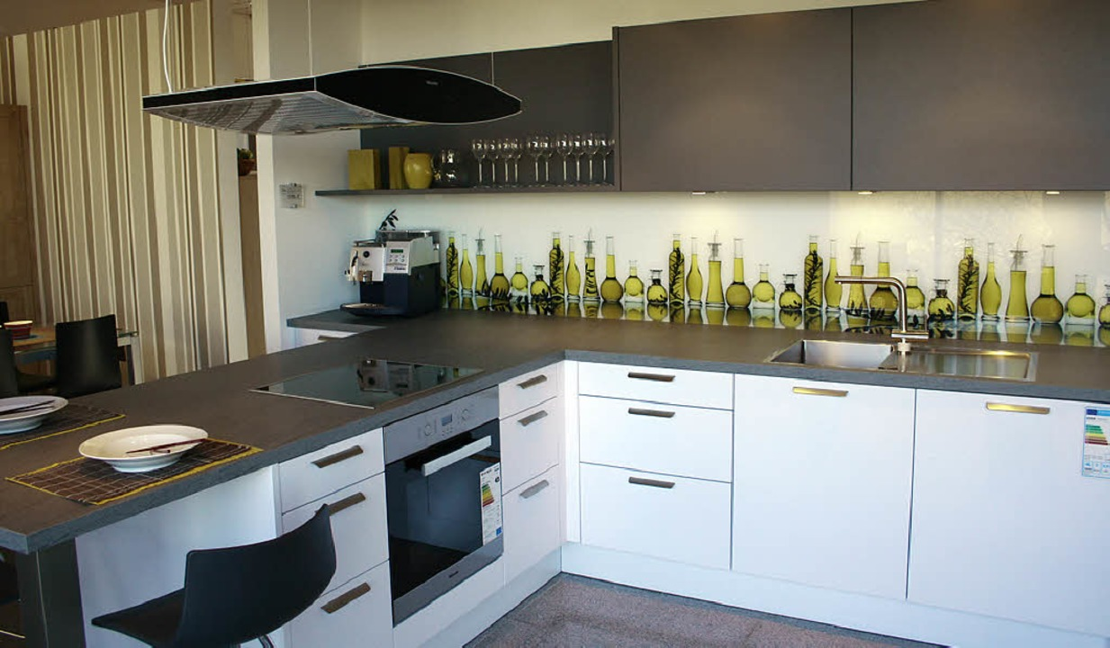 Küchenzeile Modern Hochglanz