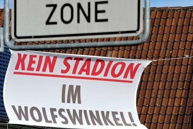 Stadion-Gutachten überzeugen Wolfswinkel-Gegner nicht