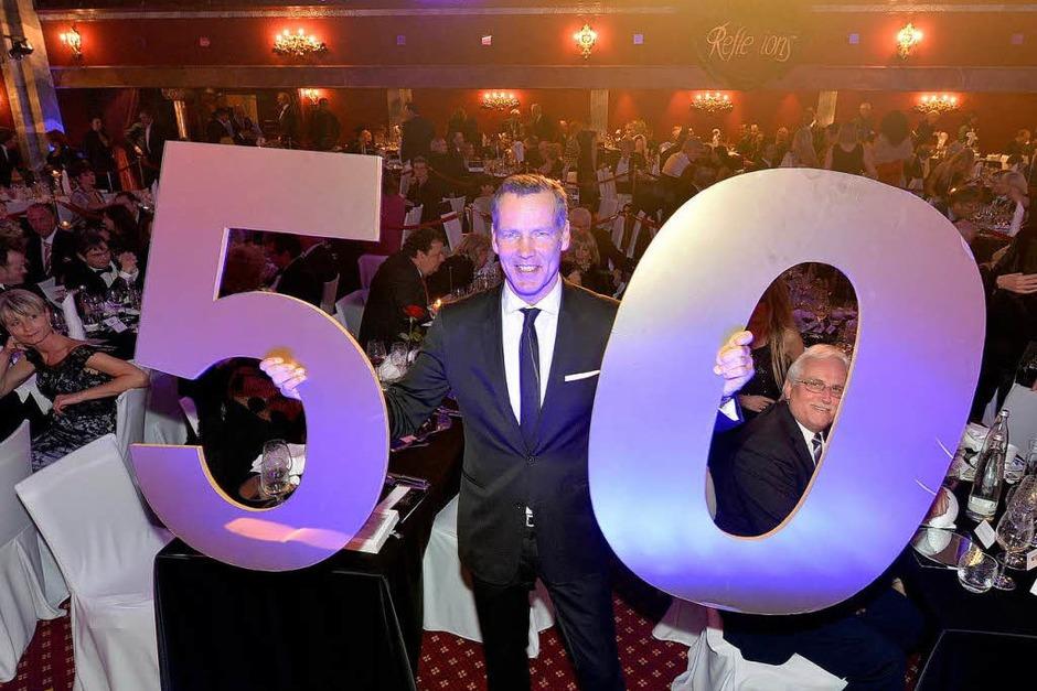 Stelldichein der Prominenz beim 50. Geburtstag von Henry Maske. (Foto: Europa-Park)