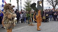 Die Kleinbasler feierten wieder ihre Wappentiere