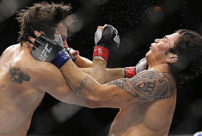 Showtime: Kämpfe in der amerikanischen Profi-Liga UFC  | Foto: dpa