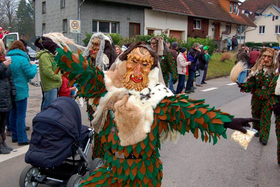 Impressionen vom Jubiläumsumzug durch Sexau (Foto: Christian Ringwald)