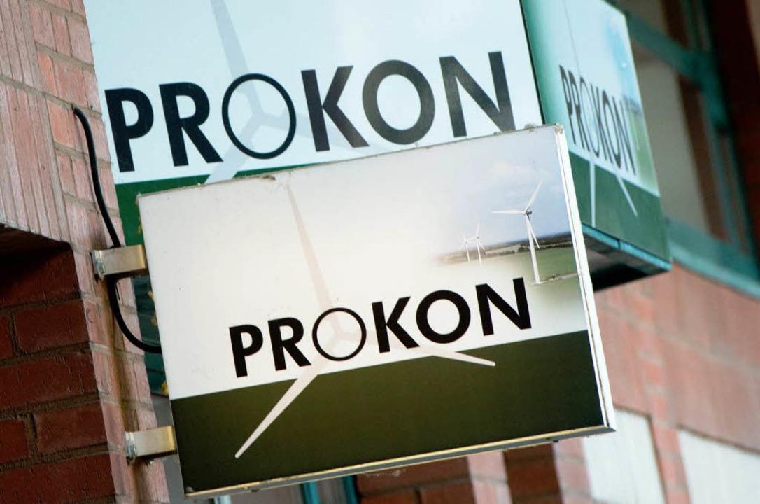 Prokon hat Insolvenz angemeldet.    Foto: dpa