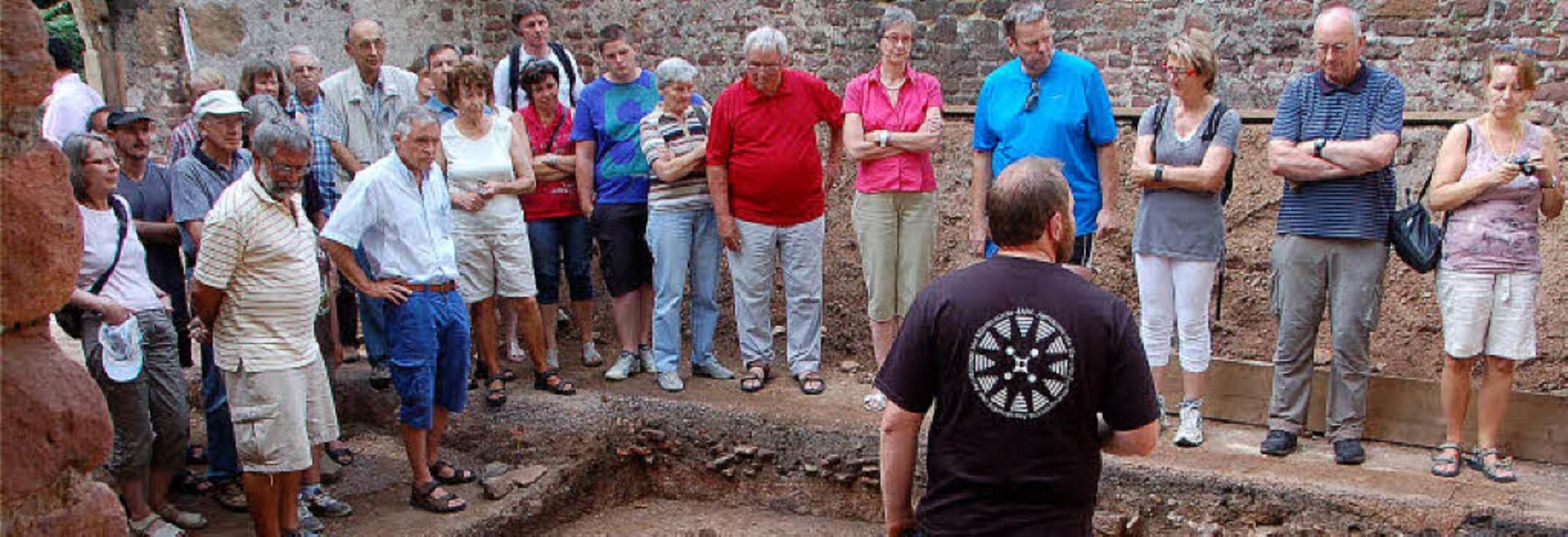Auch ein Thema im Jahr 2013: die archä...bungen bei der Ruine von St. Severin.   | Foto: Frank Kiefer