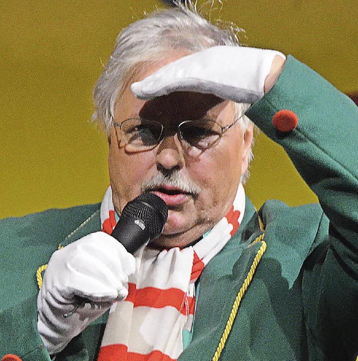 Wilfried Markus braucht nicht  nach In... Zunftabend-Eintrittskarten zu suchen.  | Foto: Gerigk