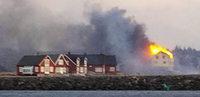 90 Häuser in Norwegen abgebrannt