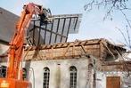 Fotogalerie: Abriss bei der Notkirche in Ottenheim