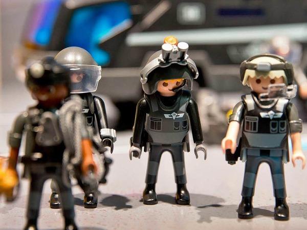 """""""SEK Polizei""""-Spielzeugfiguren von Playmobil"""