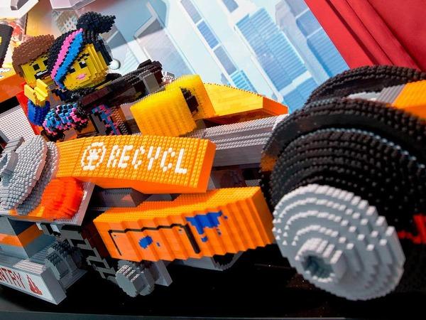 Fahrzeug von Lego