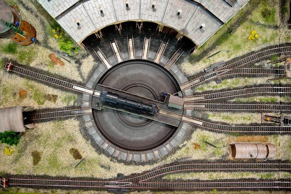 Dampflokomotive des Deutschen Unternehmens Märklin (Foto: dpa)