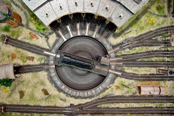 Dampflokomotive des Deutschen Unternehmens Märklin