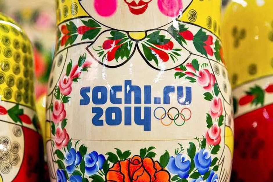 Sotschi-Matrjoschka (Foto: dpa)