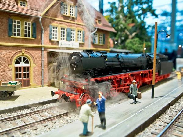 Dampflokomotive von KM1 Modellbau