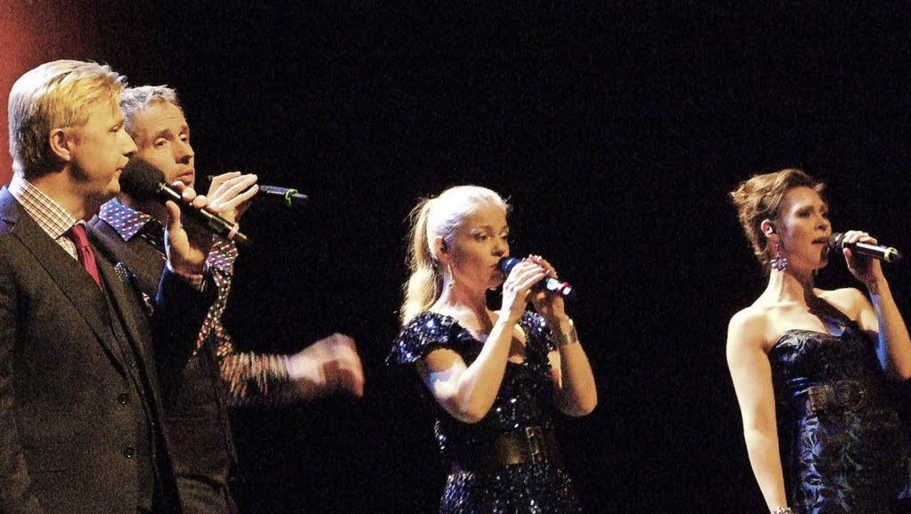 The Real Group beweisen, dass  Pop aus... auch jenseits von ABBA funktioniert.   | Foto: Martina David-Wenk