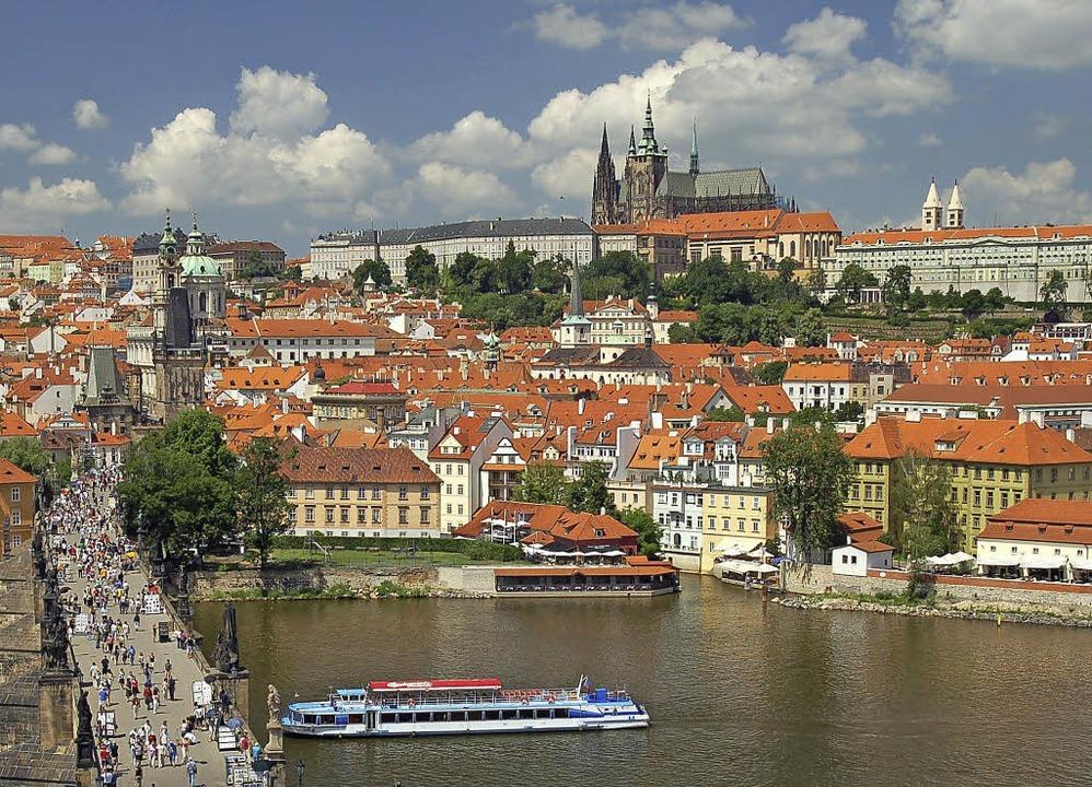 Prag ist die erste von drei Städten be...Landeszentrale für politische Bildung.  | Foto: © Prague City Tourism, www.prague.EU