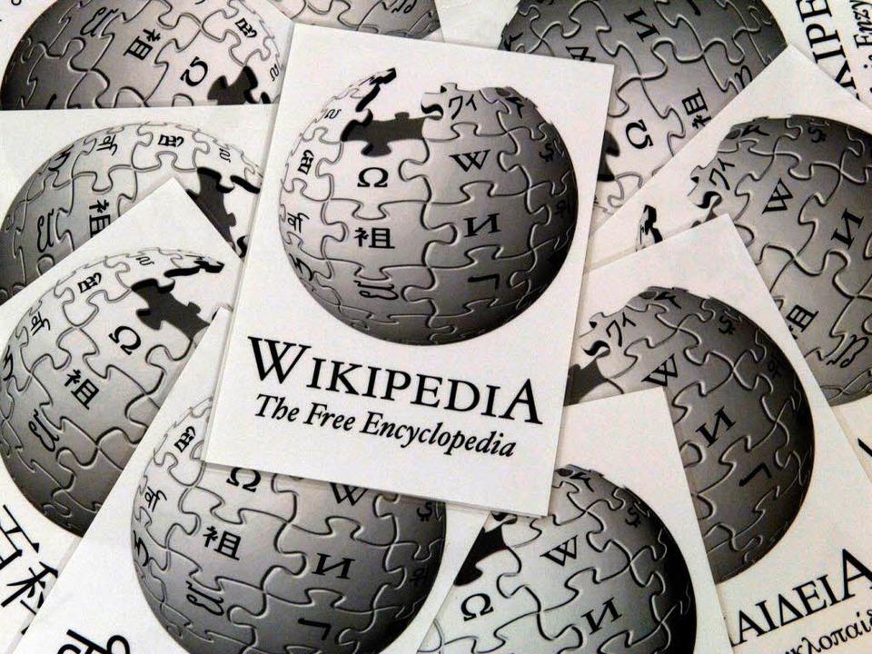 Wie verlässlich ist die Online-Enzyklo...der Objektivität bestimmter Einträge.   | Foto: dpa