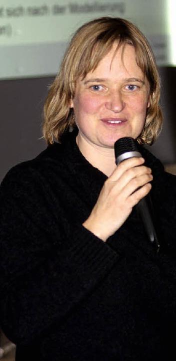 Dr. Eva Schill vom Steinbeis-Transferzentrum.  | Foto: Heiner Fabry